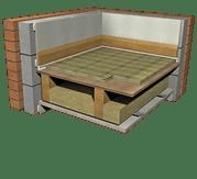 Monodeck 26T System: Overlay Platform System Direct to Floorboards