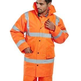 Hi-Vis Jacket - Orange