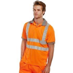Hi-Vis Polo Shirt - Orange
