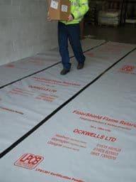 Ockwells Floorshield Flame Retardant 1m x 100M