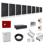 Plug-In-Solar 3kW (3000W) Hybrid Solar Power Kit with 2.4kWh Battery Storage
