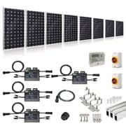 PLUG-IN SOLAR NEW BUILD/DEVELOPER 1.75KW 7 PANEL KIT