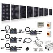 PLUG-IN SOLAR NEW BUILD/DEVELOPER 2.5KW 10 PANEL KIT