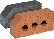 Smooth Blue Engineered Perforated Brick AN5.2