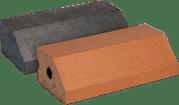 Smooth Blue Engineered Perforated Brick PL3.2