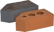 Smooth Red Engineered Perforated Brick AN1.2