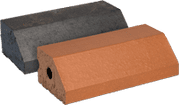 Smooth Red Engineered Perforated Brick PL3.2