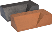 Smooth Red Engineered Perforated Brick PL4.2