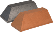 Smooth Red Engineered Perforated Brick PL7.2