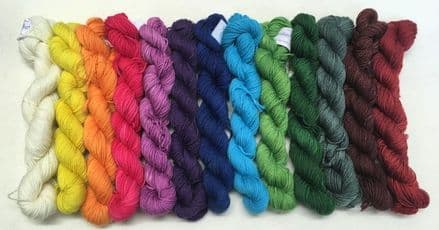 4ply Merino/Nylon Mini Skein