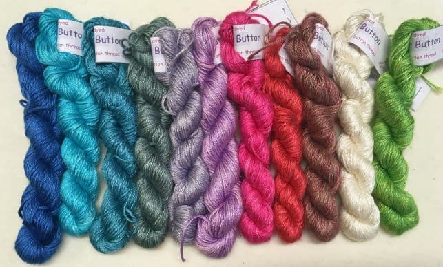 4ply Silk Mini Skein