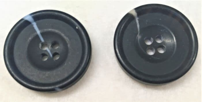 Black Streak Buttons