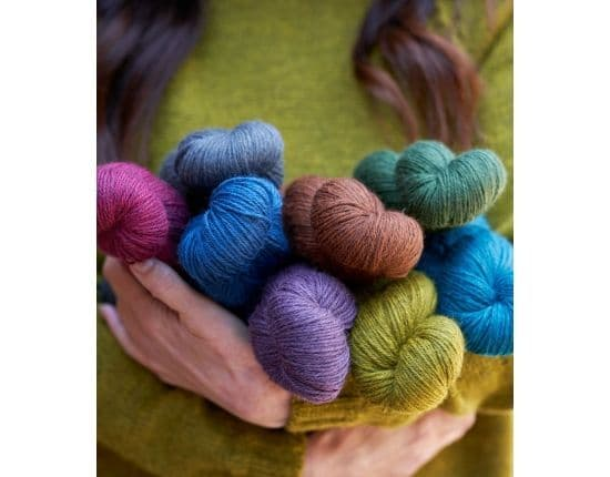 Blue Faced Leicester DK wool