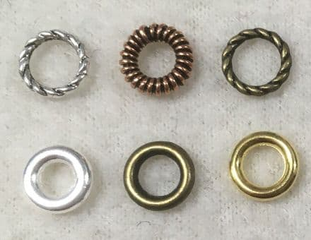Closed Rings for Halos 8mm