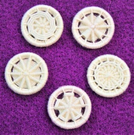 Dorset Button Kit - Multiple Style Dorset Button pack, Snow