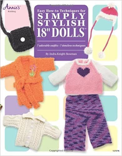 "Easy How-To Techniques for Simply Stylish 18"" Dolls"