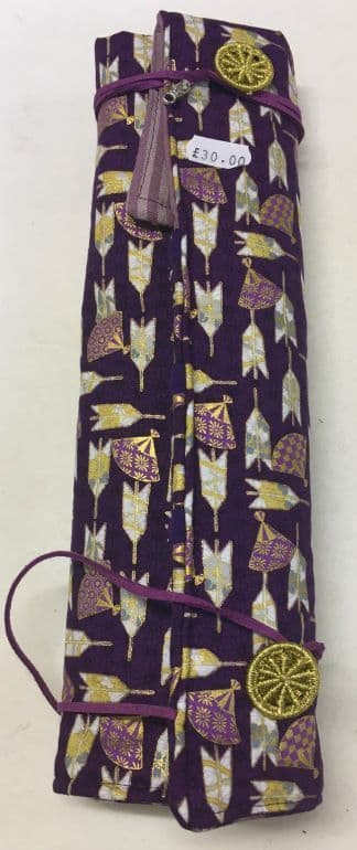 Fixed Circular Needle Roll Purple Gold