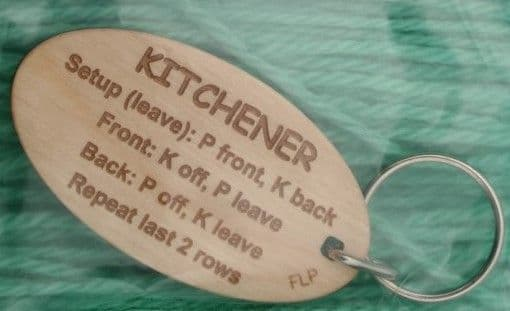 Fleece Loved Products Kitchener Stitch Key Ring