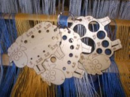 Fleece Loved Products Sheep Knitting Needle Gauges 2mm - 25mm