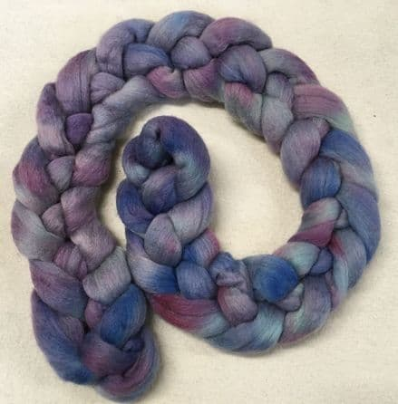 Hand Dyed Superwash Merino Top A Quiet Place