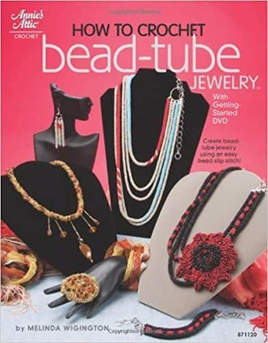 How to Crochet Bead Tube Jewelry