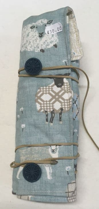 Interchangeable Circular Needle Roll Blue Sheep