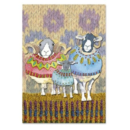 Knitting Jotter - Sheep in Sweaters