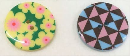 Large Acrylic Buttons