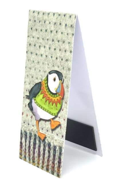 Magnetic Bookmark Woolly Puffins