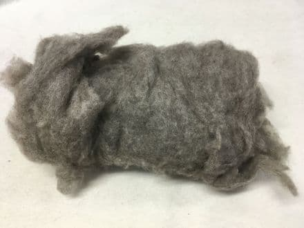 Piiku Finsheep Carded Batt Natural Medium