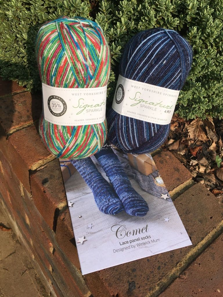 Signature 4ply Christmas Collection wool nylon