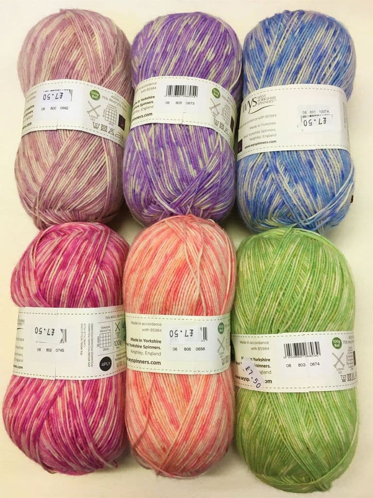 Signature 4ply Florist Collections wool nylon