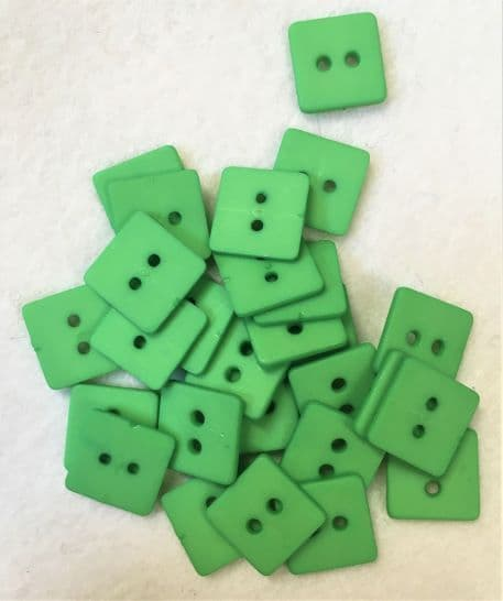 Square Green Buttons