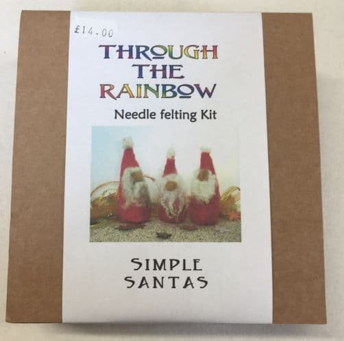 Through the Rainbow Needle Felting Santas Kit