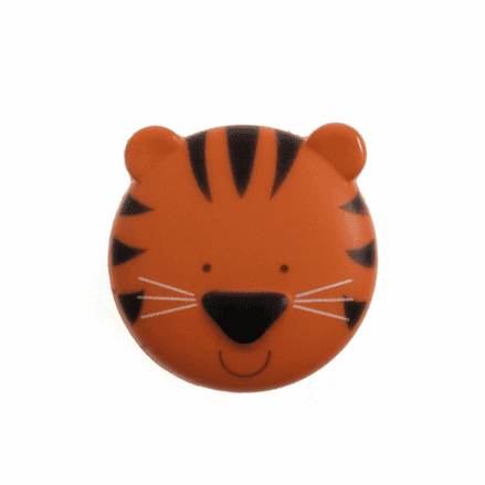 Tiger Head Buttons