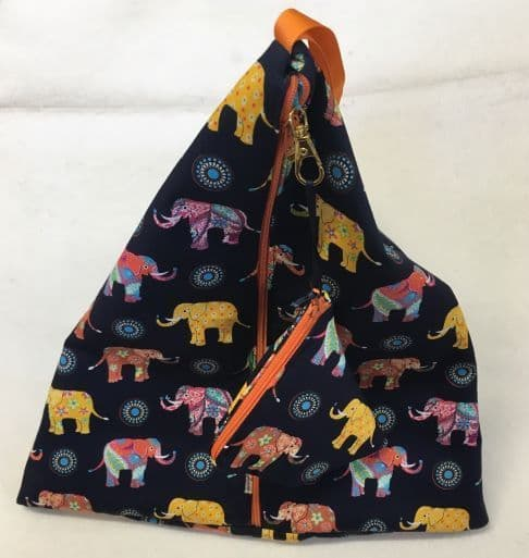 Triangular Craft Project Bags