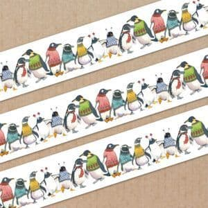 Washi Tape - Penguins in Pullovers