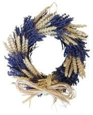 Lavender and Wheat Twig Circle (2 sizes available)