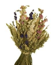 Wheat and Larkspur Bunch