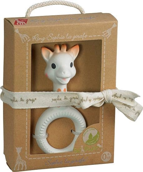 So Pure Sophie la girafe Ring Teether