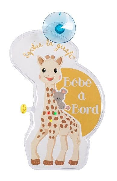 Sophie la girafe Flashing Bébé à Bord Sign