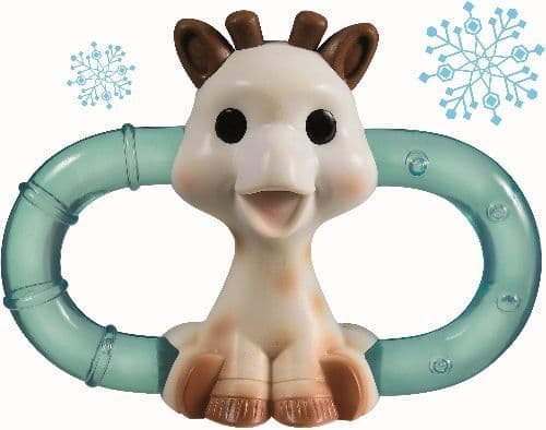 Sophie la girafe Double Ice Bite Teething Ring (Gift Box)
