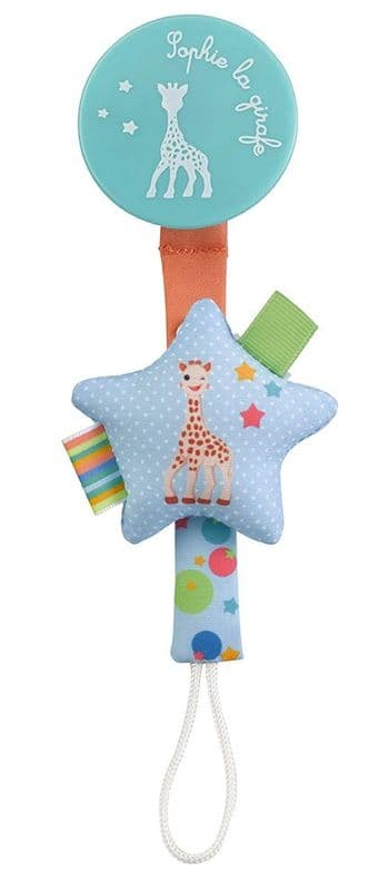Sophie the Giraffe Star Soother / Pacifier Holder