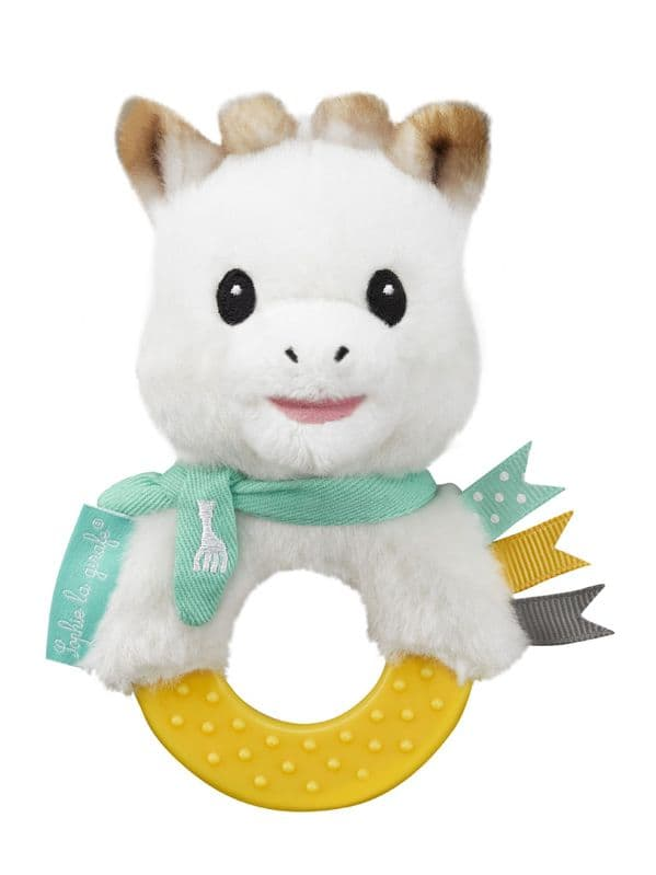 Sweety Sophie Plush Rattle