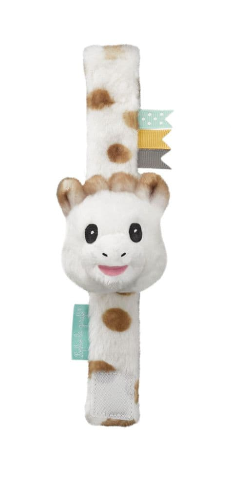 Sweety Sophie Strap Rattle