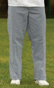 Chefs Gingham Trousers (Sizes 28-46, 30
