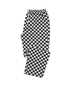 Chessboard Chef Trousers (Sizes XS-2XL = 26-48)