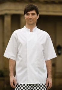Lightweight Chefs Jacket with Techno Mesh Back (Sizes S - 3XL, long or short sleeve)