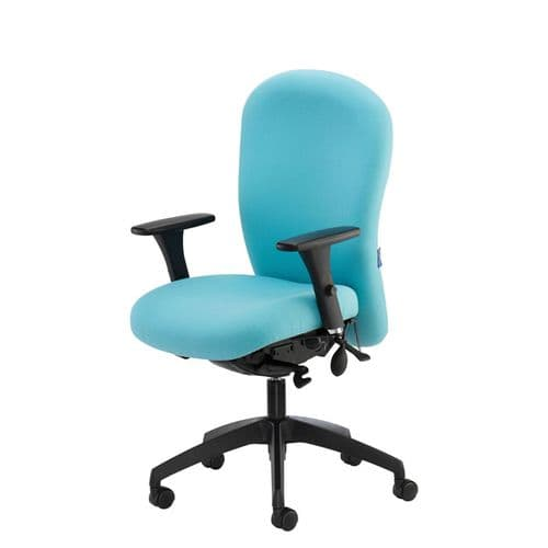 24 Hour Chair with Arms and option for Headrest
