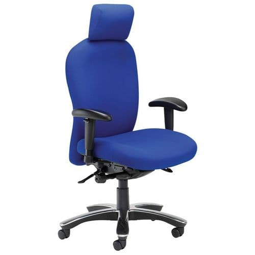 24 Hour High Back Operator Chair